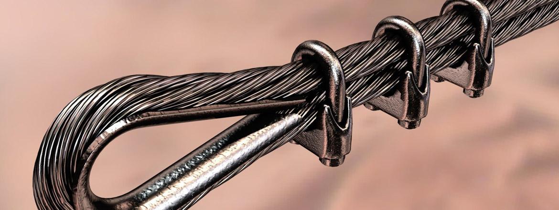 çelik halat ve çelik halat aksesuarları